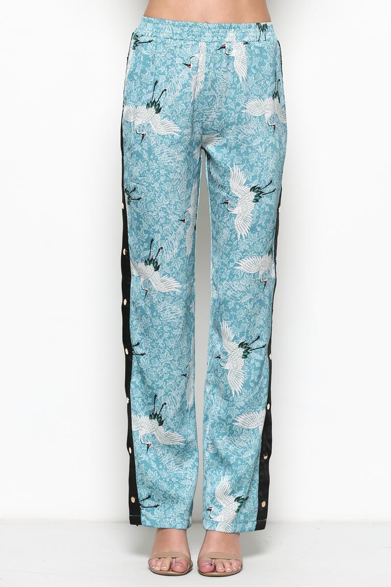 Snap Button Pants